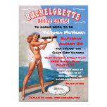 """Bachelorette Booze Cruise Party Invitations 5"""" X 7"""" Invitation Card"""