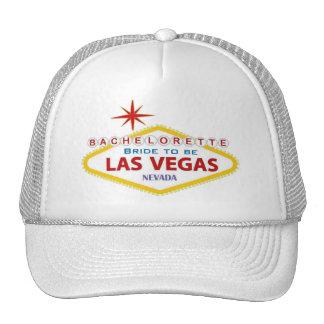 Bachelorette Bride to Be Las Vegas Cap Trucker Hat