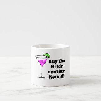 Bachelorette Buy the Bride a Round Espresso Cup