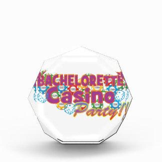 bachelorette casino party wedding bridal shower award