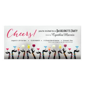 Bachelorette Cocktail Party Card