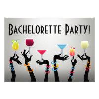 Bachelorette Cocktail Party Invite