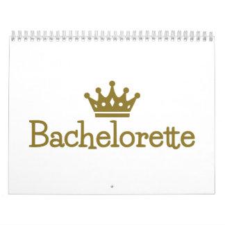 Bachelorette crown calendar