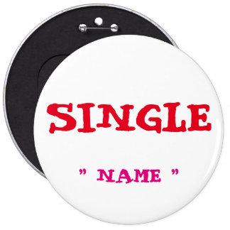 """Bachelorette de encargo ESCOGE 6"""" botón Pin Redondo De 6 Pulgadas"""