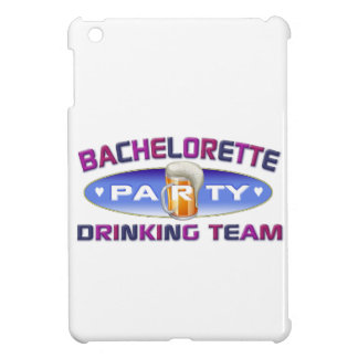 bachelorette drinking team party bridal wedding cover for the iPad mini
