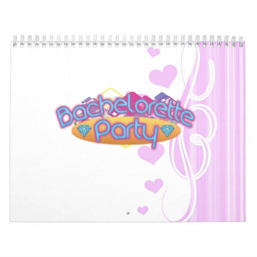 bachelorette enrrollado que casa el fiesta de duch calendarios