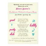 Bachelorette Getaway Invitations