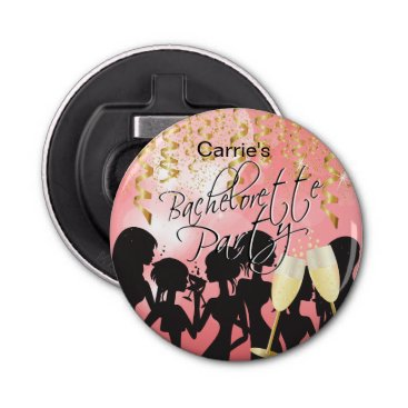 Bride Themed Bachelorette Girls Night Out - Coral Bottle Opener