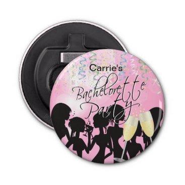 Bride Themed Bachelorette Girls Night Out - Pink Bottle Opener