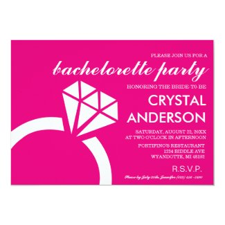 Bachelorette Invitations | Weddings