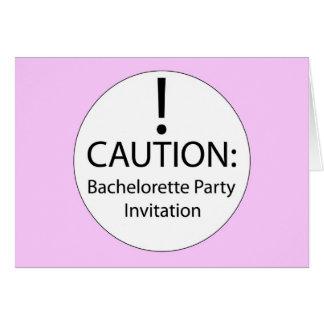 Bachelorette Invite fun