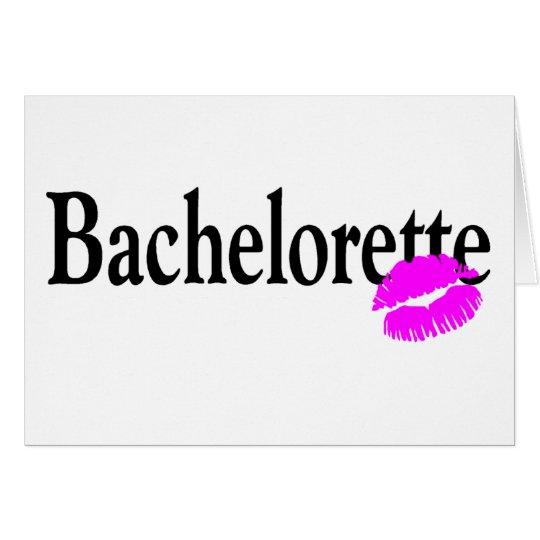 Bachelorette (Kiss) Card
