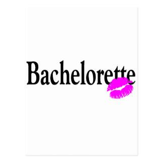Bachelorette (Kiss) Postcard
