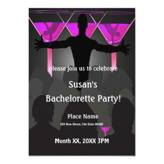 Bachelorette Ladies Night Party Invitation