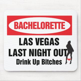 Bachelorette las vegas last night out mouse pad