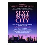 Bachelorette / Lingerie Movie Poster Party 5x7 Paper Invitation Card