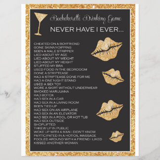 Bachelorette or Hen Party Game, Bridal Shower Game