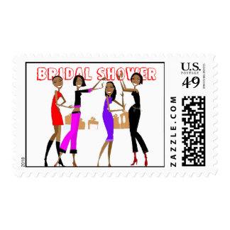 Bachelorette PARTY/ Bridal Shower Postage Stamps