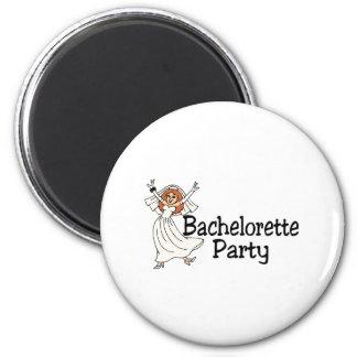 Bachelorette Party Bride 2 Inch Round Magnet