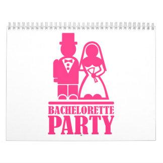 Bachelorette Party Calendar