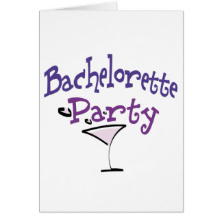 Bachelorette Party Greeting Cards
