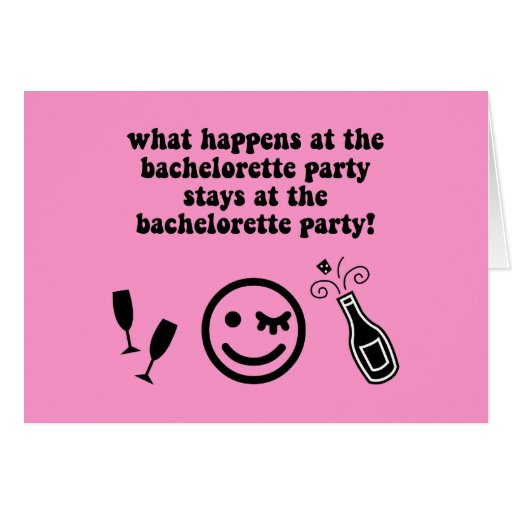 Bachelor party funny quotes