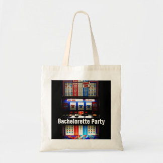 Bachelorette Party Casino Slot Machine Budget Tote Bag