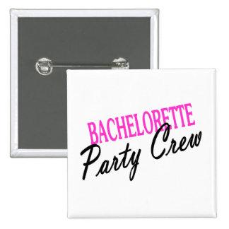 Bachelorette Party Crew 2 Inch Square Button