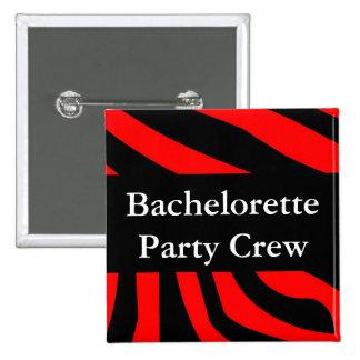 Bachelorette Party Crew Button