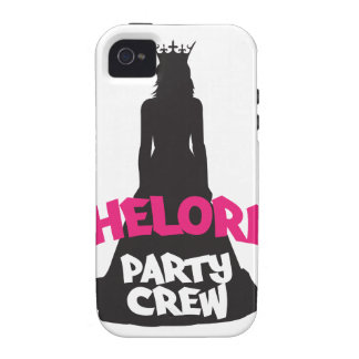bachelorette party crew iPhone 4/4S case