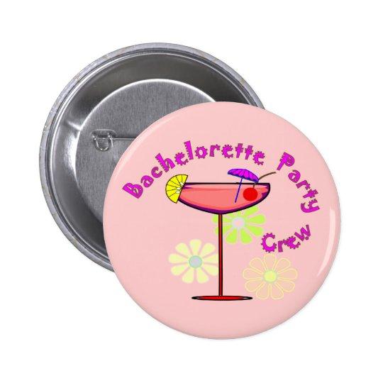 Bachelorette Party Crew T-Shirts/Buttons Button
