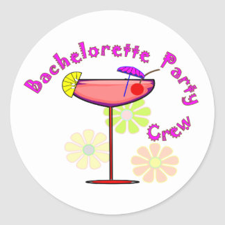 Bachelorette Party Crew T-Shirts Buttons Stickers
