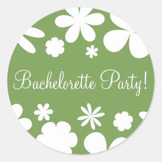 Bachelorette Party Daisy Chain Envelope Seal