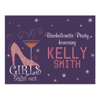 Bachelorette Party design Postcard