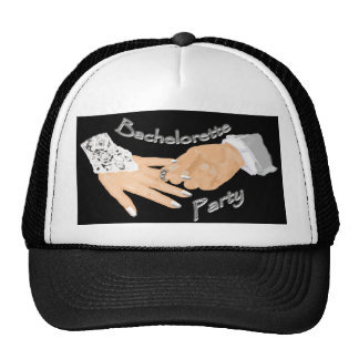 Bachelorette party design trucker hat