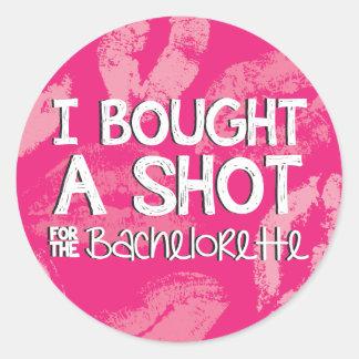 Bachelorette Party Drink Sticker