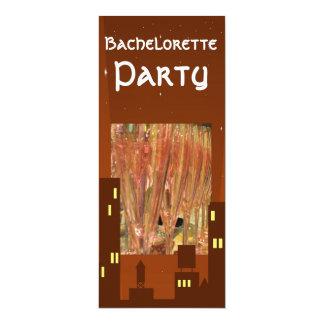 Bachelorette party drinks cocktails invitation