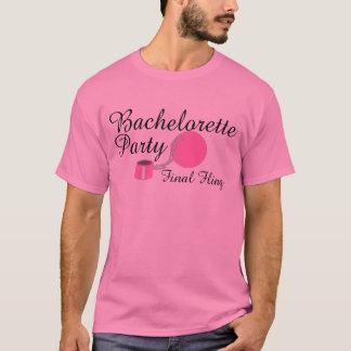 Bachelorette Party Final Fling T-Shirt