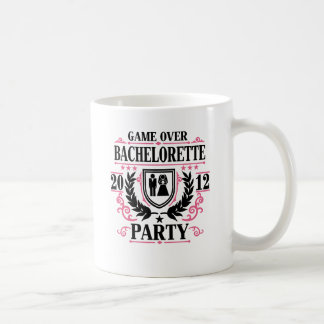 Bachelorette Party Game Over 2012 Coffee Mug