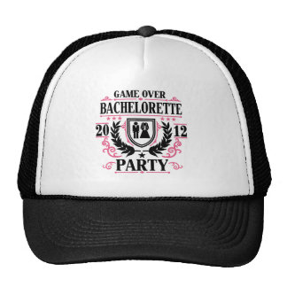 Bachelorette Party Game Over 2012 Trucker Hat
