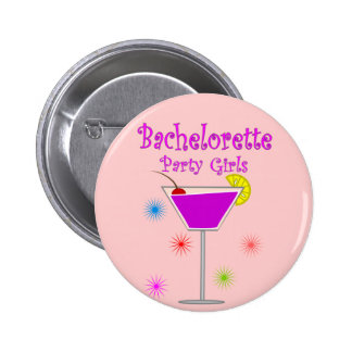 Bachelorette Party Girls T-Shirts & Gifts Pinback Button