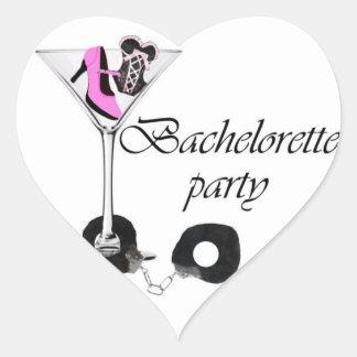 Bachelorette Party! Heart Sticker
