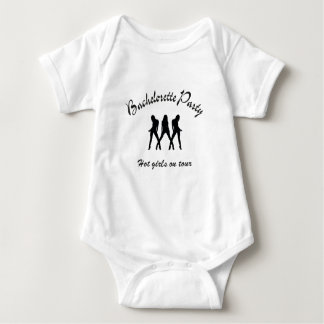 bachelorette party hot girls on route baby bodysuit