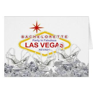 Bachelorette Party In Las Vegas Card