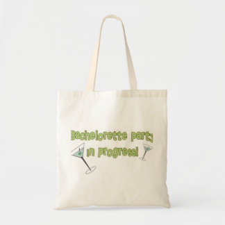 Bachelorette Party in Progress Budget Tote Bag
