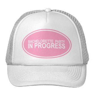 Bachelorette Party In Progress Keepsake Hat
