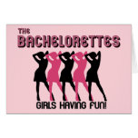 Bachelorette Party invitation Greeting Cards