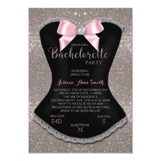 BACHELORETTE PARTY INVITATION LINGERIE PARTY