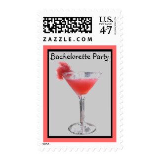 Bachelorette Party Invitation Postage