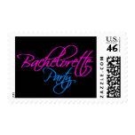 Bachelorette Party Invitation Postage Stamp